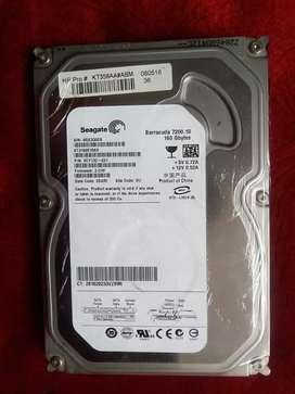 Disco duro para pc escritorio 160 GB w 10