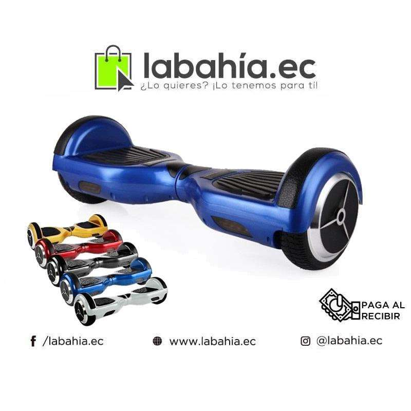 Patineta electrica con parlantes bluetooth y luces Led 0