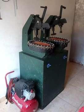 Vendo maquinas para zapateria