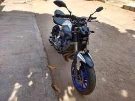 moto yamaha mt 07 perfecta y potente