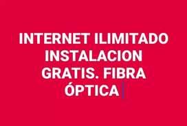 INTERNET ILIMITADO INSTALACION GRATIS DESDE 22.4 MES