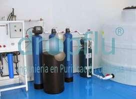 se vende maquinaria de planta purificadora de agua