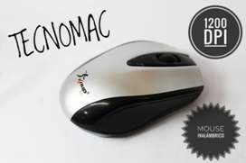 Mouse inalambrico Knup