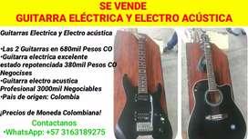 Guitarra Eléctrica y Electro Acústica
