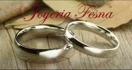 Argollas matrimoniales clásicas