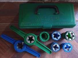 Terrajas Para Caño Agua Plástico Pp Y Pvc 1/2 3/4 1 Pulgadas