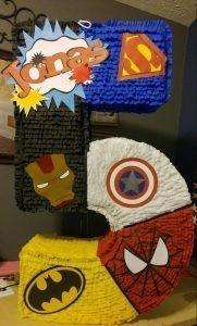 Piñata Super Heroes 0