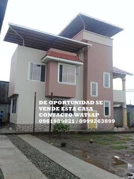DE OPORTUNIDAD Vendo Bonita Casa En Lago Agrio Km 4 1/2 Vía Quito,barrio Cañaberal