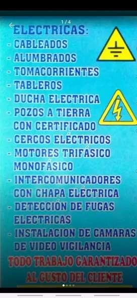 SERVICIO DE INTALACIONES ELECTRICAS EN GENERAL