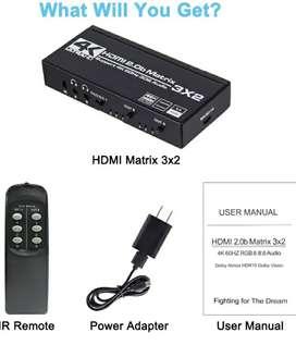 Interfaz 3x2 hdmi