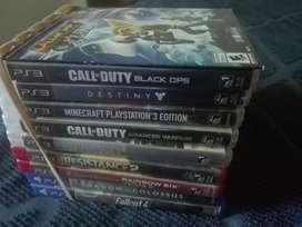 Vendo juegos de ps4/ps3