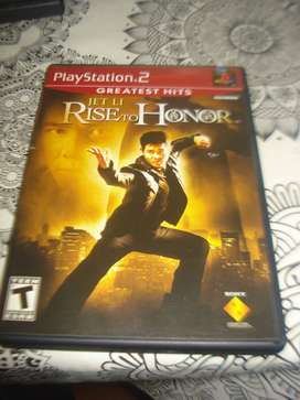 Juego Jet Li Rise To Honor Play 2 Fisico Excelente No Envio