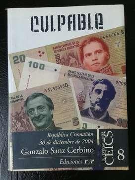Culpable - Gonzalo Sanz Cerbino - LEER