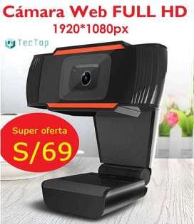 CAMARA WEB FULL HD 1920x1080px