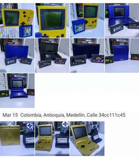 Game boy poker  Game boy SP 001 azul Game boy SP 001 edición Zelda Ds fat  Ds Lite  Cada uno a 200 mil