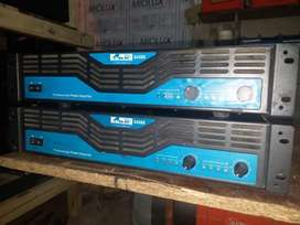 Vendo 2 Potencias Profesionales GBR 1400W RMS