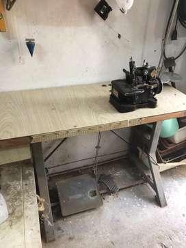 Maquina de coser overlock 3 hilos yamato dc-1 industrial