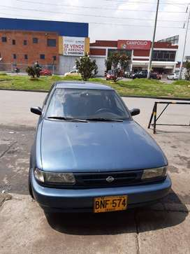 Nissan Sentra, B 13, Modelo 2002, buen estado, MOTOR MUY BUENO, 1600 c.c., 5 cambios, radio USB, Soat tecnom. marzo 2020