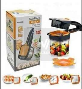 Nicer dicer quick 5 en 1 (cortador de verduras y frutas)
