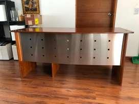 Remato escritorio de madera