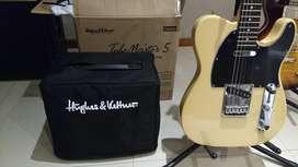 Amplificador Valvular Hughes & Kettner