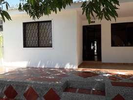 En Galapa, se vende casa grande y central