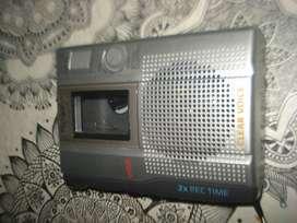 Grabador De Periodista Sony Tcm 200dv Impecable No Envio
