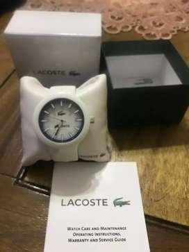 Reloj lacoste nuevos con garantía oficial, vendo o permuto por ps4 y doy diferencia