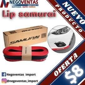 Lip samurai para autos