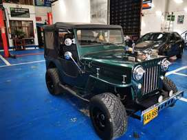 Hermoso jeep willys