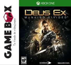 Deus Ex Mankind Divided Day One Edition Xbox One - Nuevo