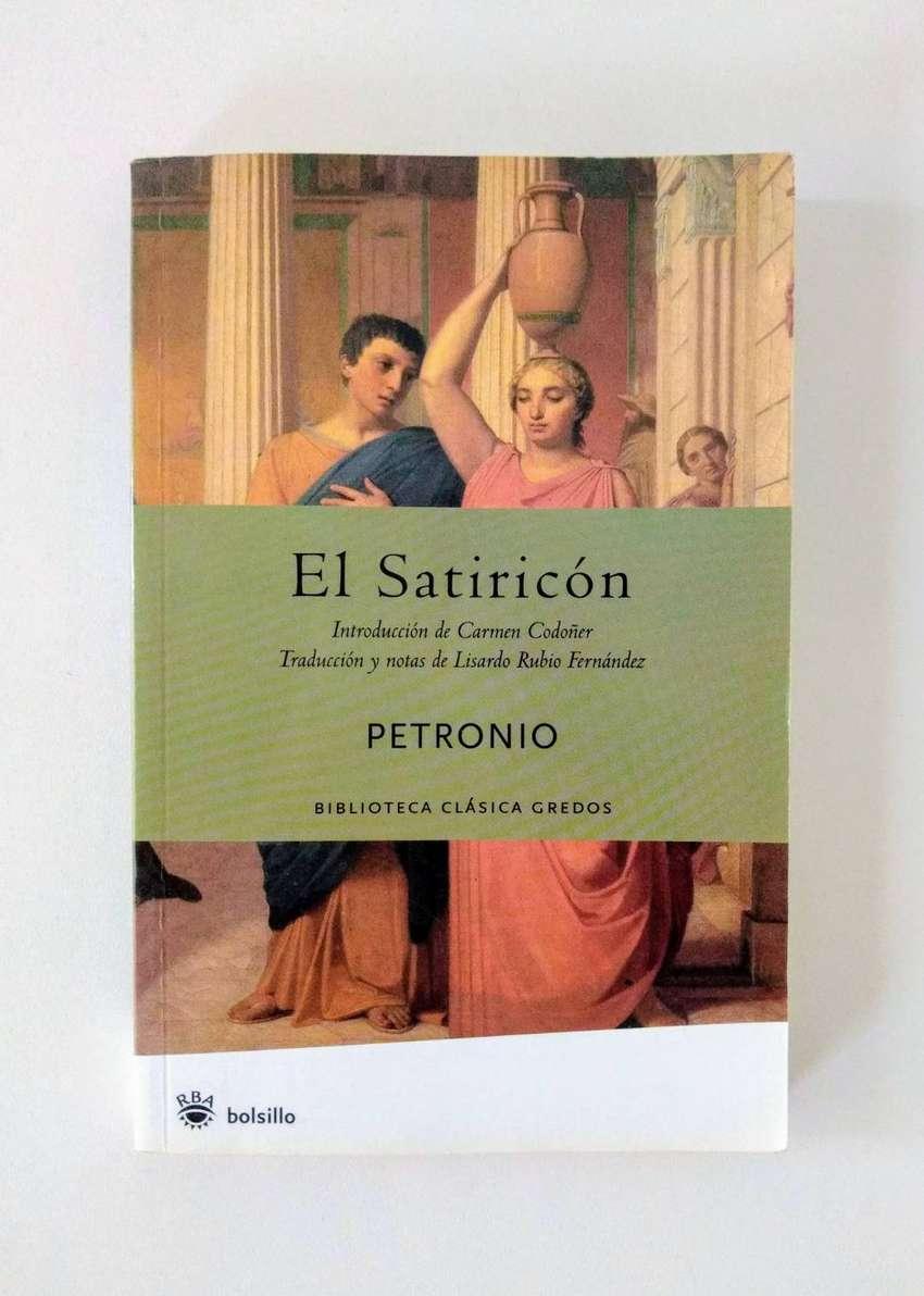 El Satiricón - Petronio - RBA Biblioteca Clásica Gredos 0