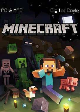 Licencia Minecraft Java Edition Premium (para Mac o Windows, código o por correo)