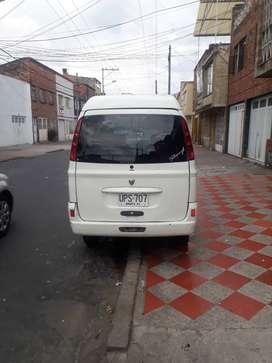Vendo camionets hafei songhy plqca blanca sin pico y placa