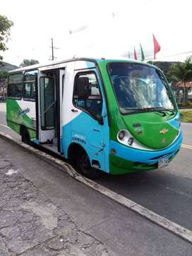 Vehículo de servicio público urbano en Villavicencio.