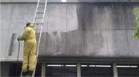 Lavado de fachadas pared o pisos industrial