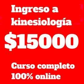 CURSO DE INGRESO A KINESIOLOGIA
