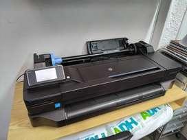 Impresora 60 cm HP Designjet T120 en Perfecto Estado