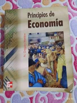 Espectacular libro principios de la economía