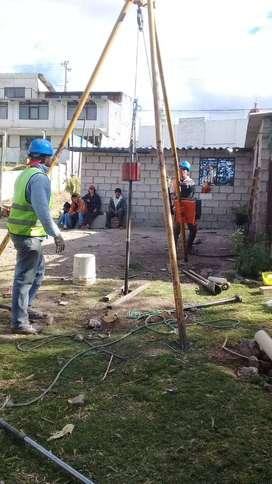 ESTUDIOS DE SUELOS PARA APROBACIÓN MUNICIPAL SANGOLQUI
