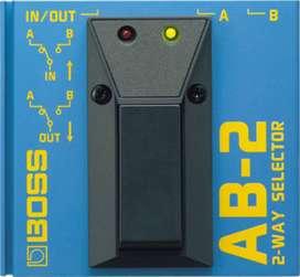 Pedal Boss AB-2 Guitarra Electrica SELECTOR