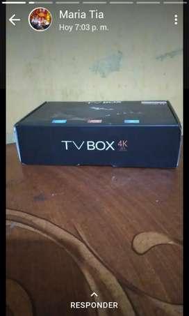Tv box 4k para todo tipo de televisor
