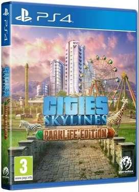 juego ps4 CITIES SKYLINES (usado)