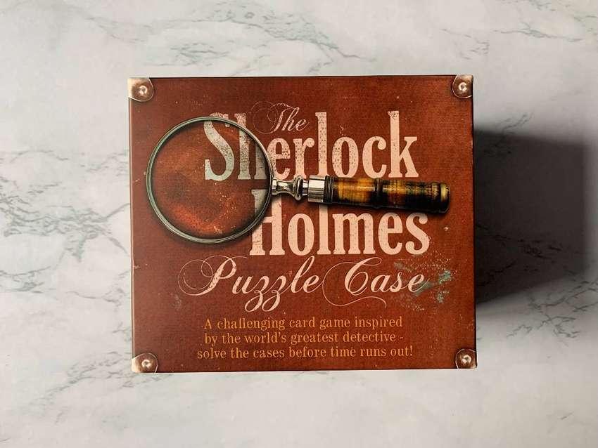 Juego de mesa. Sherlock Holmes Puzzle Case. En inglés
