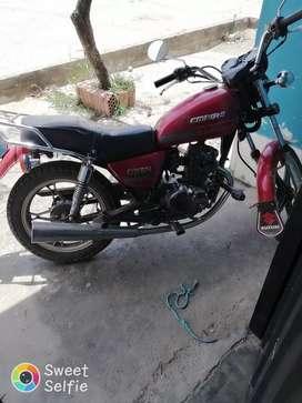 Moto Owen rojo
