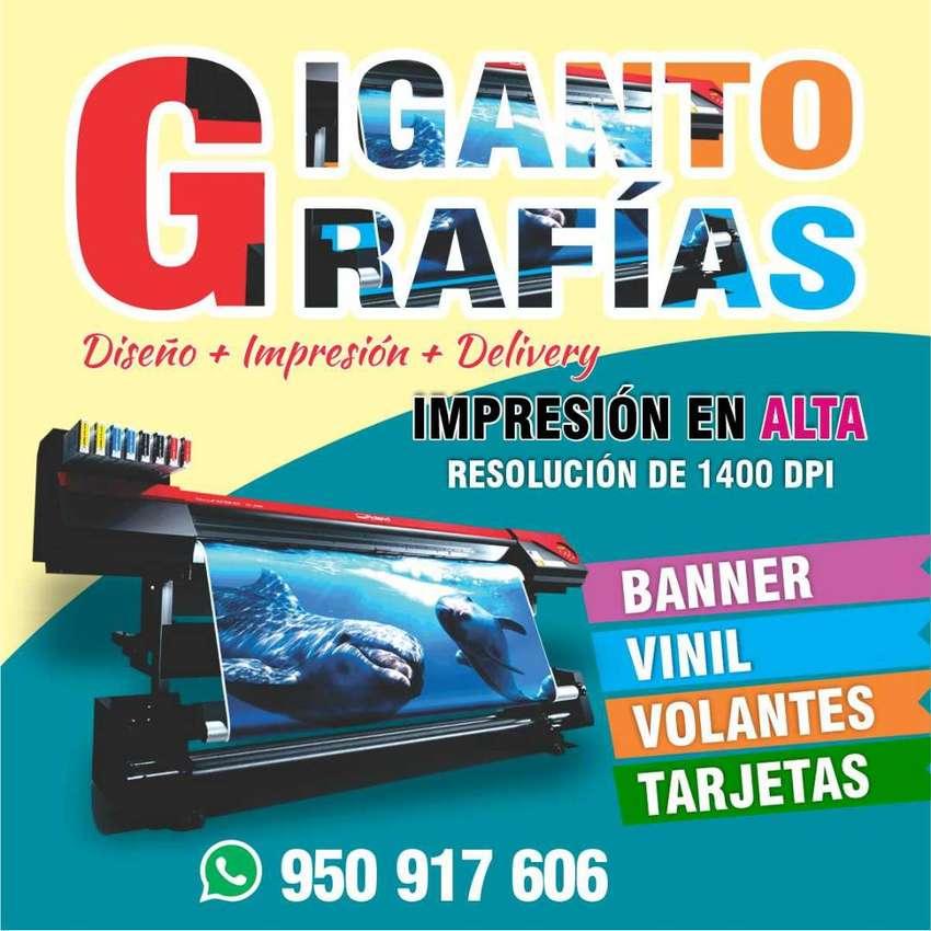 Diseño + Impresión de Gigantografías 0