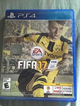 Vendo FIFA 17 - excelente estado