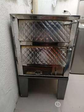 Horno para panadería y Escabilador