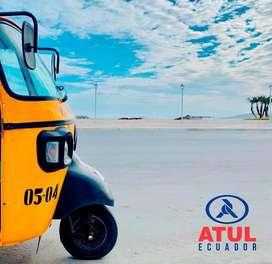 ATUL Gemini Premium, La Tricimoto Mototaxi más equipada del Ecuador y con mejores características mecánicas