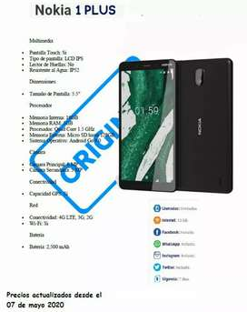 Vendo Nokia 1 plus accesorios por favor con un día de anticipación bendiciones
